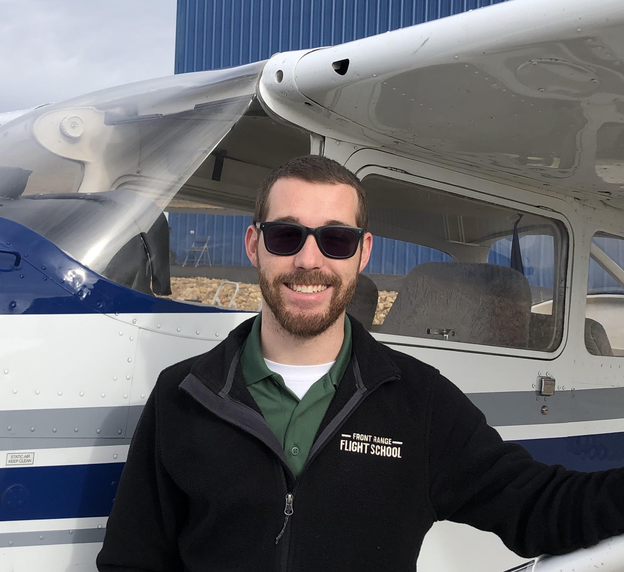 Certified Flight Intsructor Levi Teague | Front Range Flight School